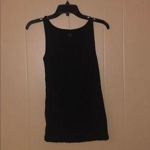 LOFT sleeveless black cami